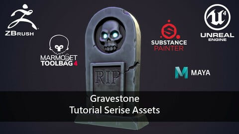 Gravestone: Tutorial Series Assets.