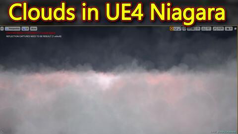 Clouds in UE4.26 Niagara