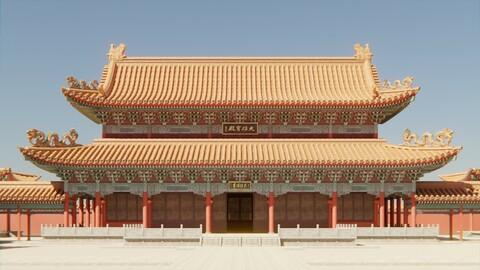 Asian Modular Temple