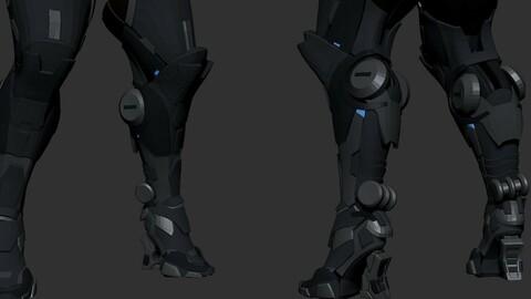 Low Basemesh Legs Girl
