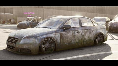 PostApo Car Wrecks vol. 01