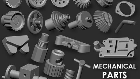 Mechanical Parts IMM Brush Pack (21 in One)
