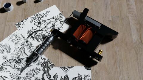 Coils Tattoo Machine model