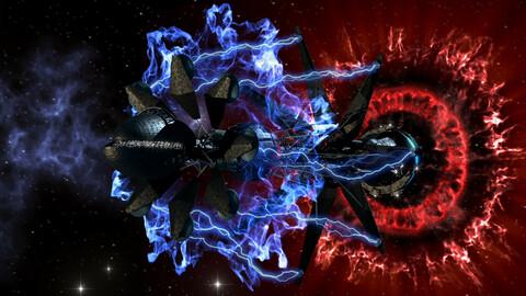 Spaceship Warp Drive (HD)