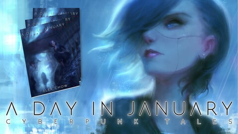 """""""A Day in January"""" Artbook/Short Story Collection (Digital)"""