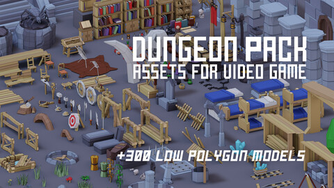Dungeon Package +300 Models