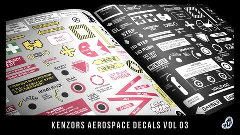 Kenzor's Aerospace Decals vol 03