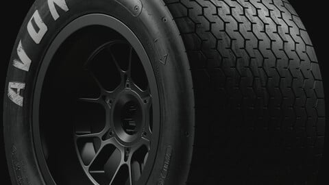 AVON Group C ACB9 Tire (Real World Details)
