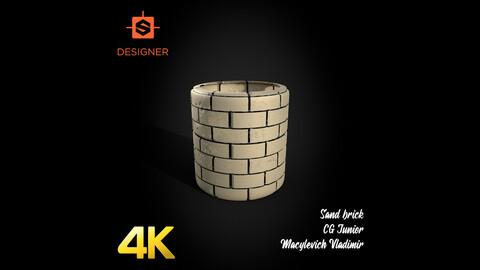 Sand Brick Material/Texture 4K