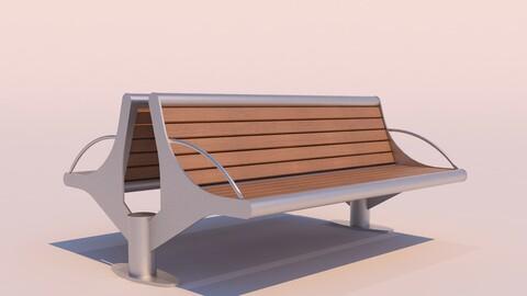Outdoor Modern Bench