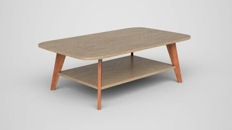 Alfanso Coffee Table engineered wood