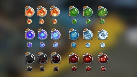 Fantasy Icons pack №1