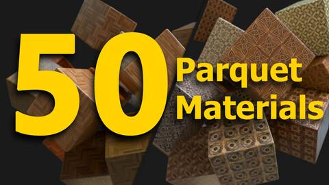 50 Parquet Materials - Substance