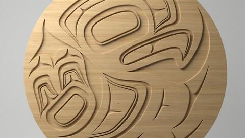 Northwest Coast Art Circular - Design 19