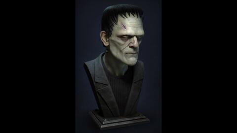 ♦ Frankenstein's Monster Bust ♦