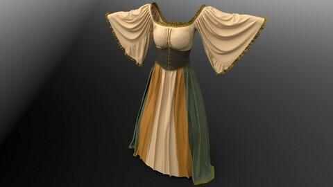 Medieval Corset Lace Dress