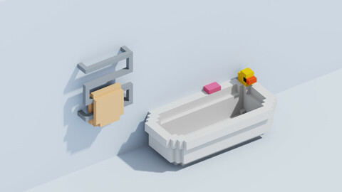 Voxel Bath and Dryer