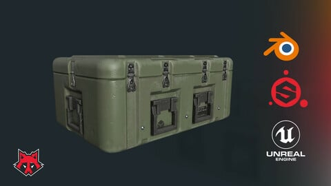 Game Asset Pipeline - Military Crate