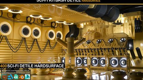 400 DETILE SCI-FI HARDSURFACE+100 ALPHA