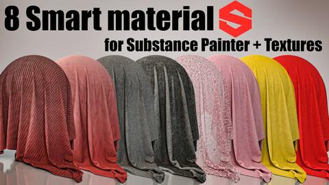 8 fabric smart material