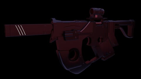 Submachine Gun 1