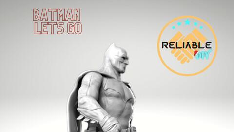 Batman Diorama - STL Digital Files - 3D Printable