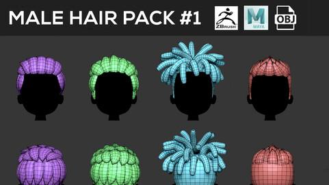 Male Hair Pack #1