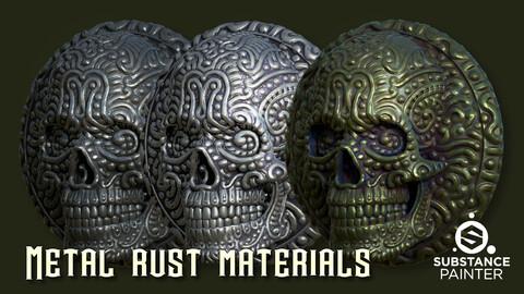 Metal rust materials