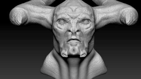 Steppenwolf Sculpt (Zbrush File)
