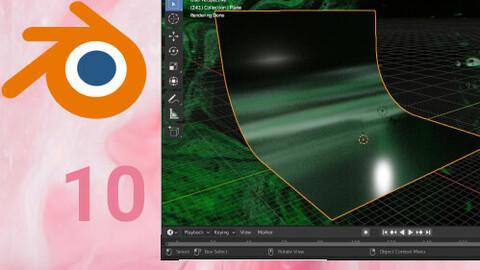 Abstract environment/scene Blender