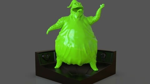 Oogie Boogie Sculpture