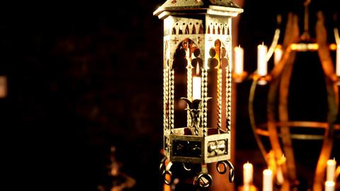 Medieval Fantasy Lamps Pack 01
