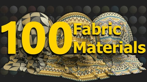 100 Fabric Materials - Substance