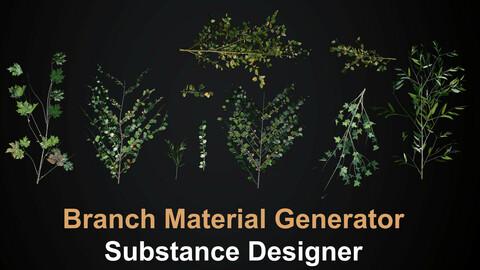 Branch/Plant Generator - Substance Designer