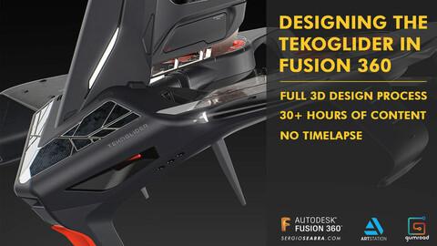 Designing the TekoGlider in Fusion 360