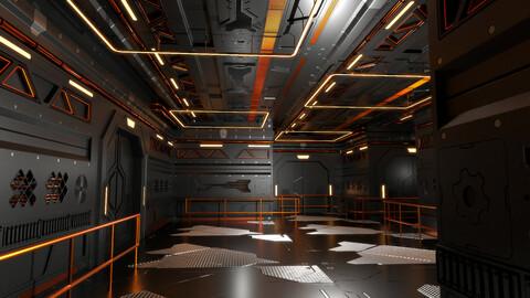Sci Fi Interior 602