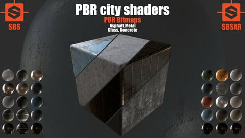 PBR City Shaders