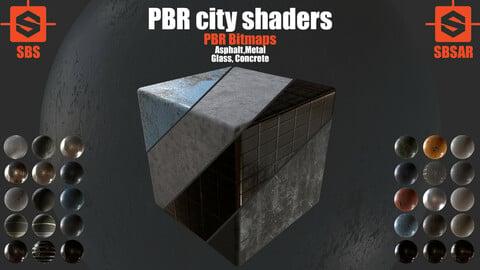 PBR City Shaders