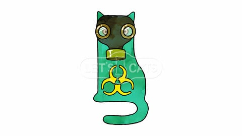 Chemical protection troops Cat