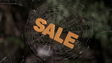 3D abstract sale web