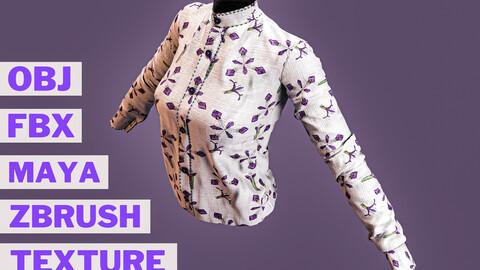 Formal women's shirt project