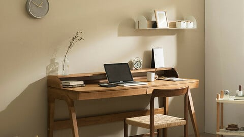 Orb B wooden desk 120cm160cm