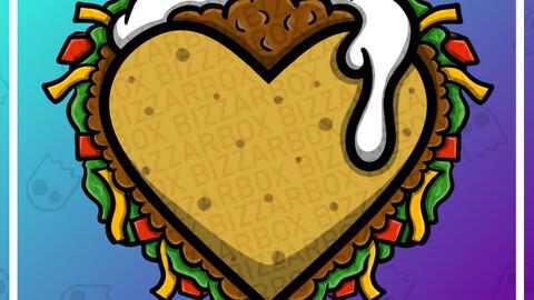 Twitch Emote: Taco Heart