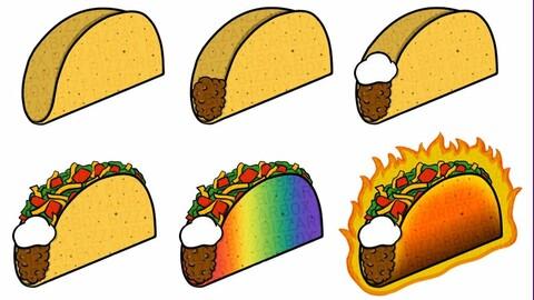 Twitch Sub Badges: Tacos