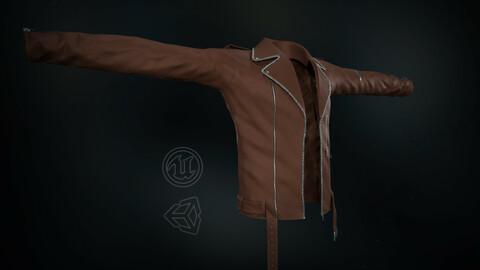Brown Jacket - 3D Model