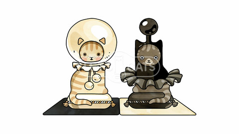 Pawns Cats