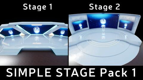 Simple Stage Pack 1 UE4