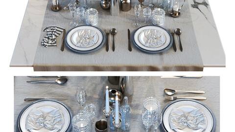 Luxury dining table set 015