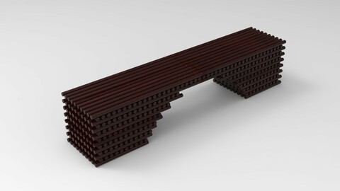 Bench Model with Line Tool