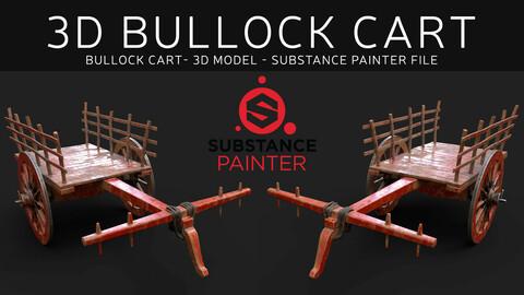SouthIndian Bullock Cart